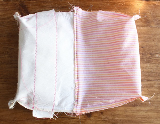 diy candy button zipper pouches