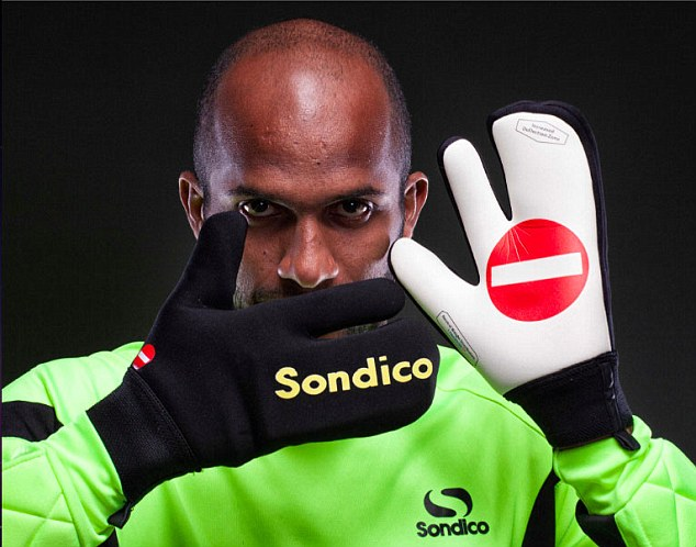 The Other Paper Goalkeeper Will Wear Special No Entry Gloves If