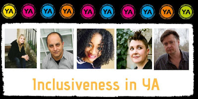 Inclusiveness in YA panel NYA Lit Fest