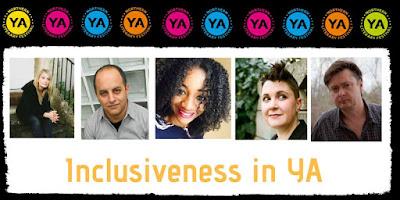 Inclusiveness in YA panel NYA Lit Fest