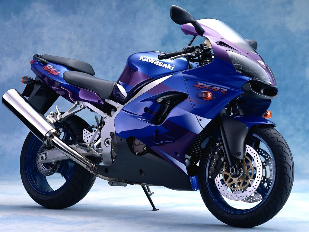 Blue Heavy Bike Hd Wallpaper: HD Wallpapers Collection: Super Cool Bikes