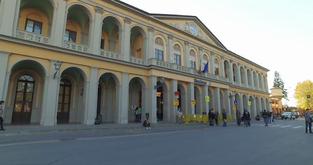 Estação de trem de Lucca na Itália