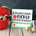 Apple Jar Teacher Gift