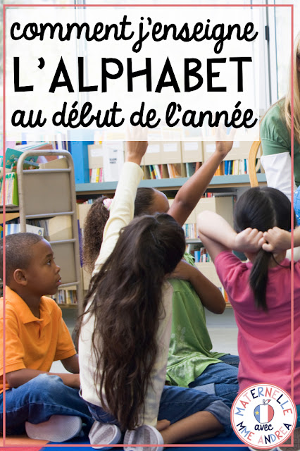 Looking for ideas and inspiration when it comes to introducing your French or French Immersion students to the alphabet? Check out this blog post full of ideas that are perfect for maternelle, or even première année!