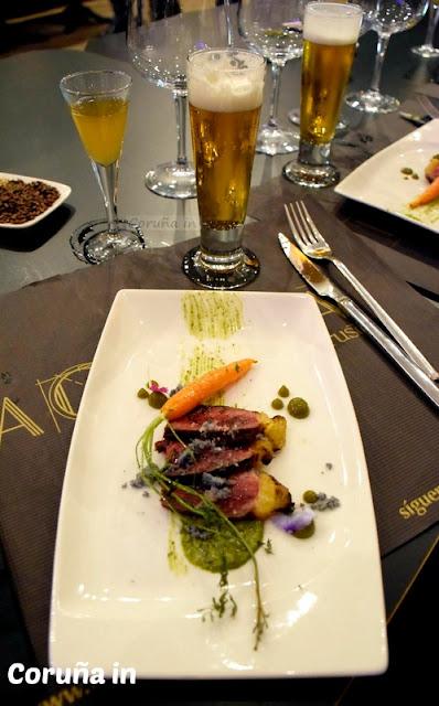 maridaje, cata, La Granera, cerveza Estrella Galicia, Coruña, Restaurante Coruña