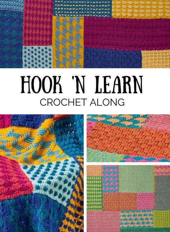 Hook 'n Learn CAL, Simply Crochet | Happy in Red