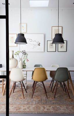 Simple Ergonomic Dining Room Chairs