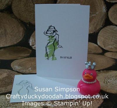 Stampin' Up! UK Independent Demonstrator Susan Simpson, Craftyduckydoodah!, Beautiful You, Supplies available 24/7,