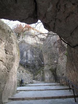 Cuenca, bajada a las Angustias