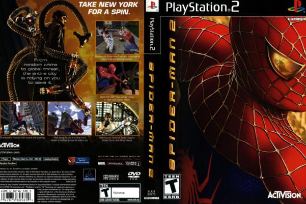 spiderman 2 psp