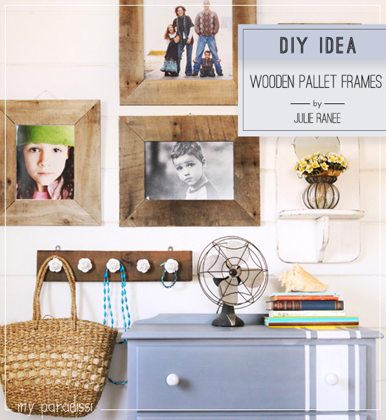 Wooden pallets reuse