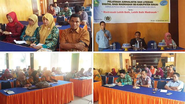 Pelatihan bagi guru dan siswa se-Kabupaten Sinjai 3