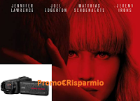 Logo Vinci gratis videocamera Full HD Everio Quad Prof o 10 libri del film ''Red Sparrow''