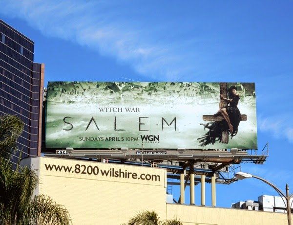 Salem season 2 WGN billboard