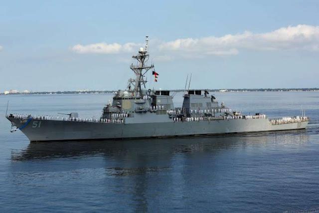 Destructor Arleigh Burke DDG 51. Aviones, submarinos y barcos de guerras más caros del mundo. Cuánto cuesta un portaviones. Cuál es el costo de un avión de guerra. Cuánto vale un submarino nuclear.