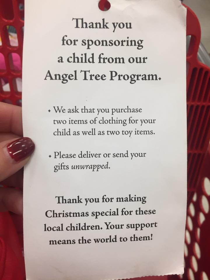 Austin Mogger Salvation Army Angel Tree Austin Texas