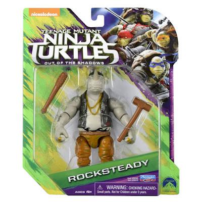 TOYS : JUGUETES - Teenage Mutant Ninja Turtles 2 Rocksteady | Figura - Muñeco | 2016 | PELICULA Out of the Shadows : Fuera de las Sombras Producto Oficial de las tortugas Ninja | A partir de 4 años Comprar en Amazon España & buy Amazon USA