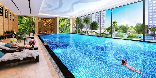 bể bơi dự án 108 Nguyễn Trãi