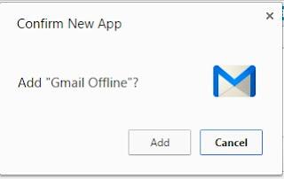 offline gmail use