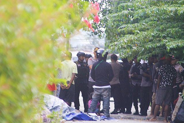 Polisi Gerebek dan Bongkar Papan Nama Kantor Biro Politik ULMWP, serta Menangkap 10 Orang Penghuni