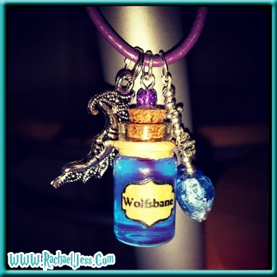 Harry Potter Wolfsbane necklace