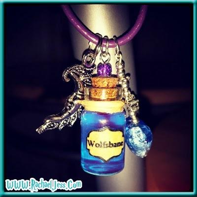 Harry Potter Wolfsbane necklace