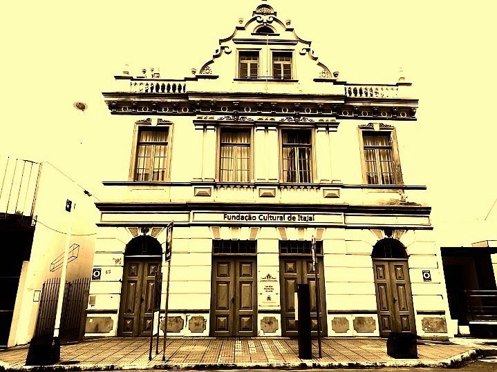 Casa Burghardt, em Itajaí