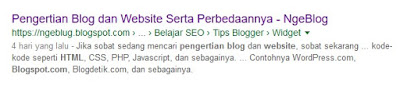 Cara Membuat Meta Tag Deskripsi dan Meta Tag Keywords di Blogger