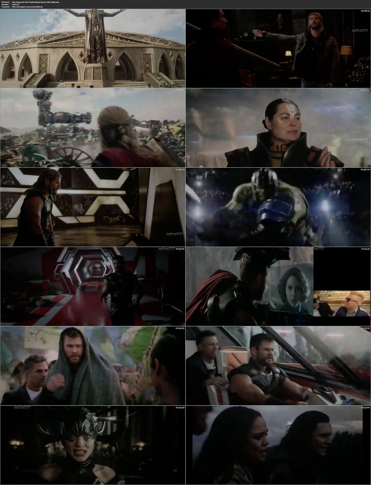 Thor Ragnarok 2017 Full Movie 300MB Hindi 480p movies500.me