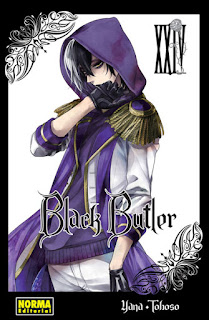 Black Butler (Kuroshitsuji 黒執事) vol.24 - Norma Editorial