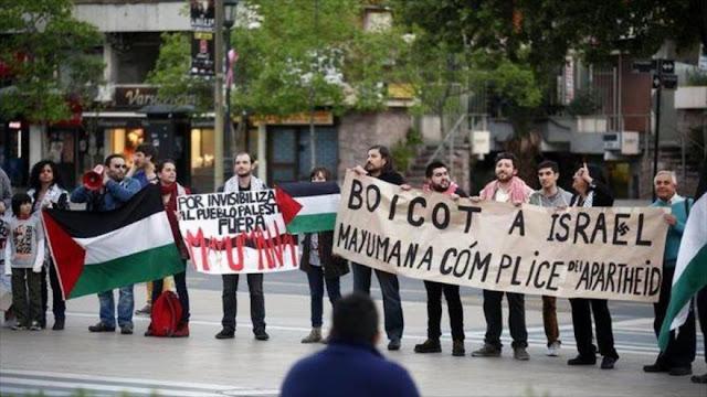 Agrupación de Ejecutados Políticos en Chile llama boicotear productos israelíes