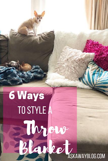 6 Ways to Style a Throw Blanket
