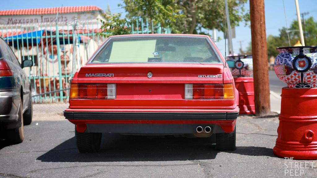THE STREET PEEP: 1985 Maserati Biturbo S