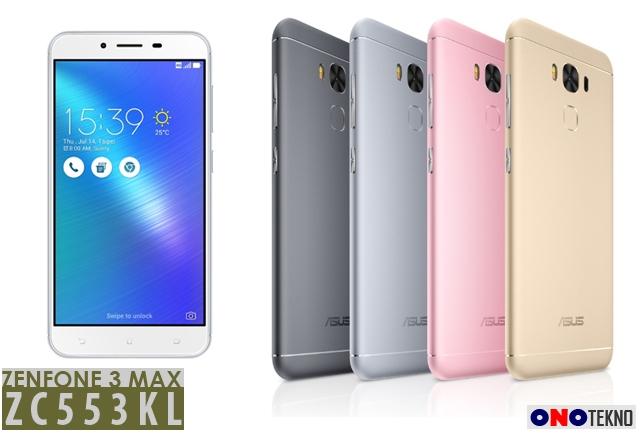 "Release ZenFone 3 Max 5.5"" ZC553KL"
