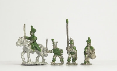 Line infantry command: