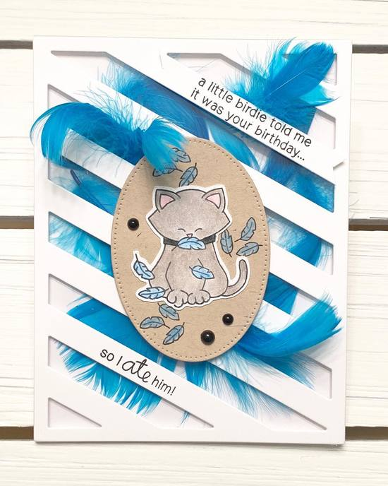 A little birdie told me by Kimmie features Newton's Birthday Flutter by Newton's Nook Designs; #newtonsnook