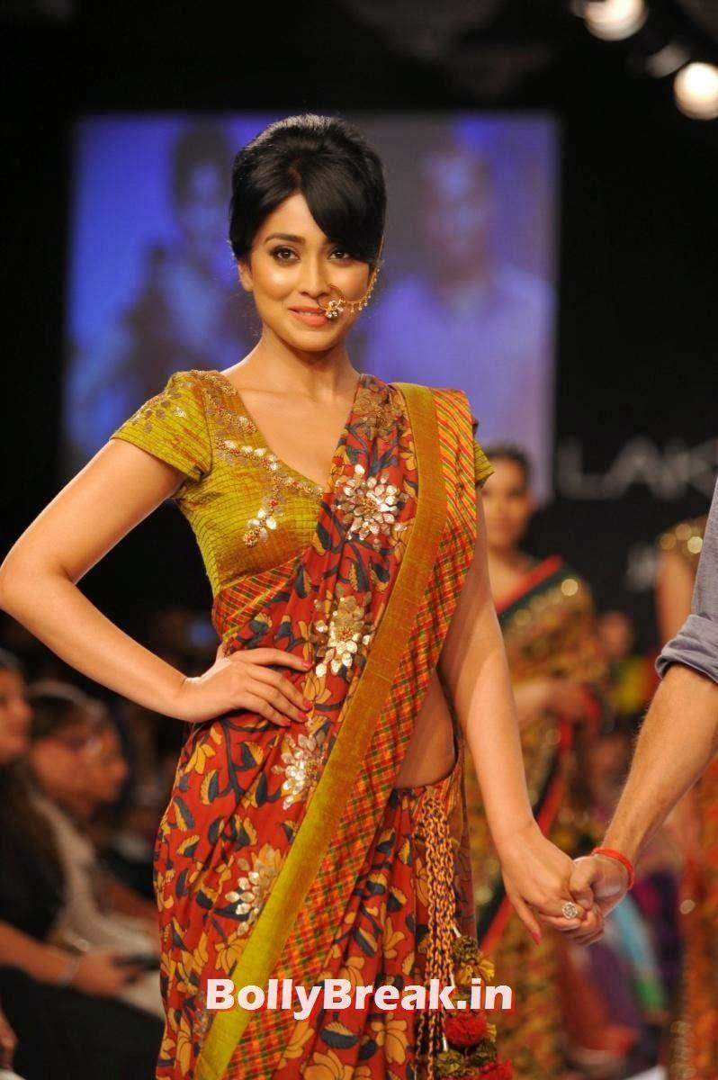 , Shriya Saran Pics in Sexy Saree