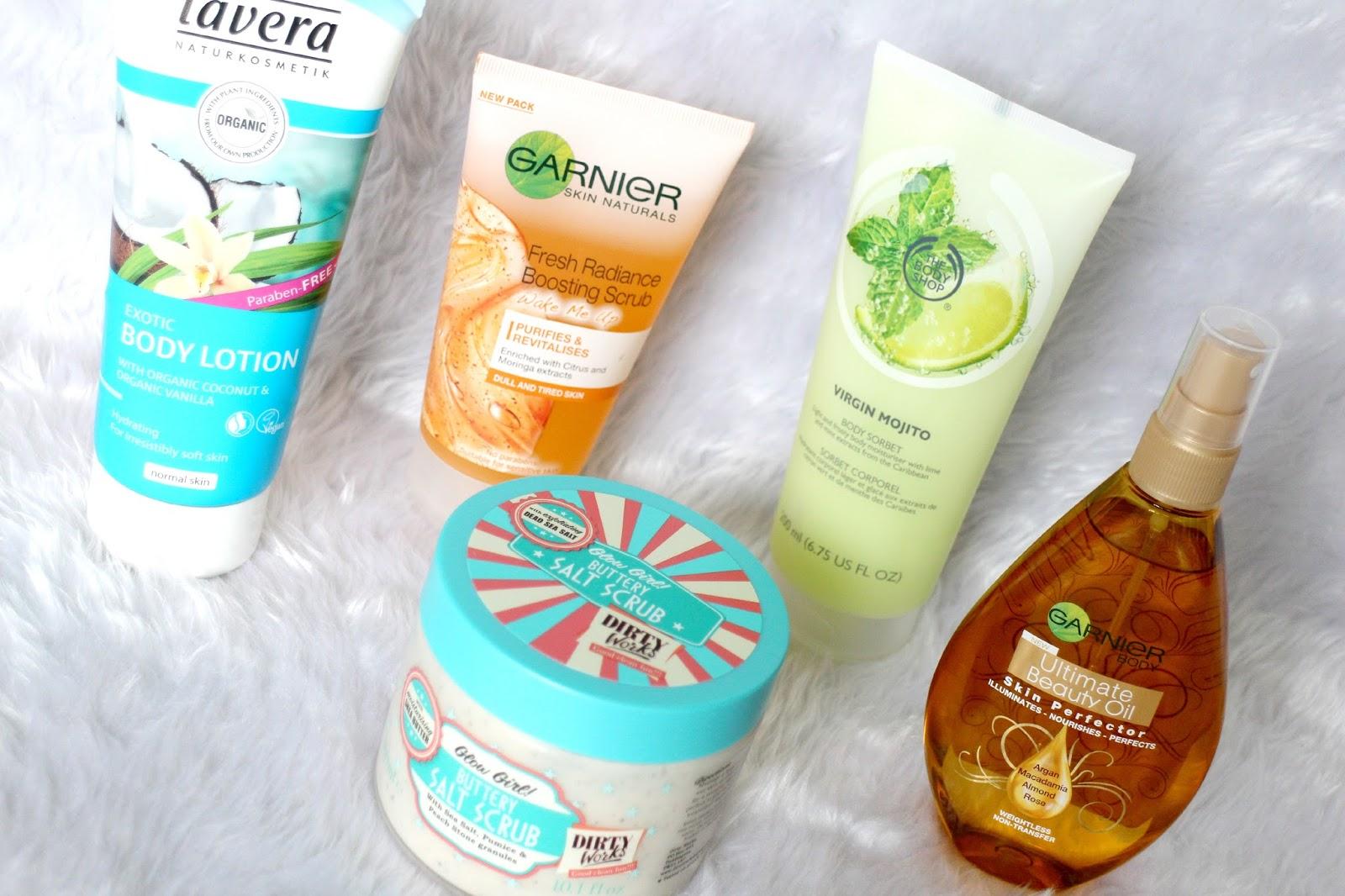 Summer Skincare Body