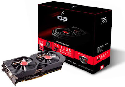 XFX RX 580 GTS Black Ed. OC+ 8GB