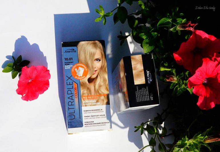 Domowa koloryzacja - Joanna Ultraplex Color Platynowy Blond Domowa koloryzacja
