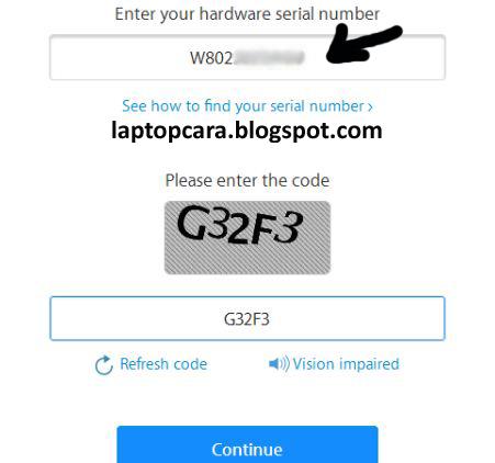 cara mengetahui serial number laptop lenovo