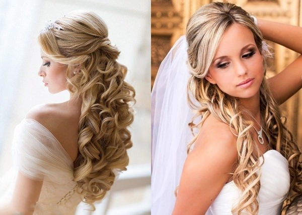 Wedding Hairstyle with Permanent Waves 8