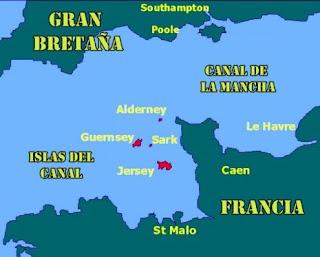 islas británicas del Canal de la Mancha