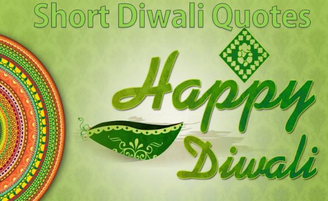 Short Diwali Quotes