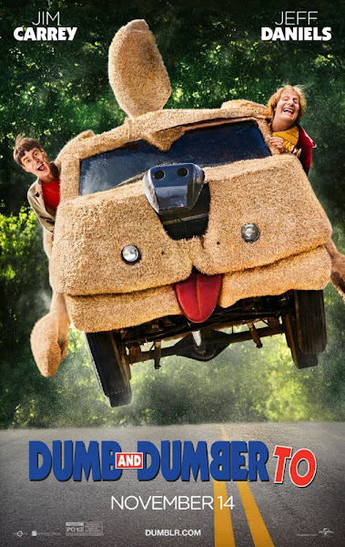 Poster of Dumb And Dumber To 2014-Dual-Audio [Hindi-English] 720p-BluRay-ESubs Download