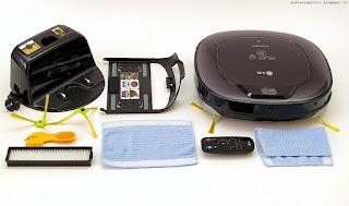 LG Hom-Bot Square VR64703LVM, contenuto confezione
