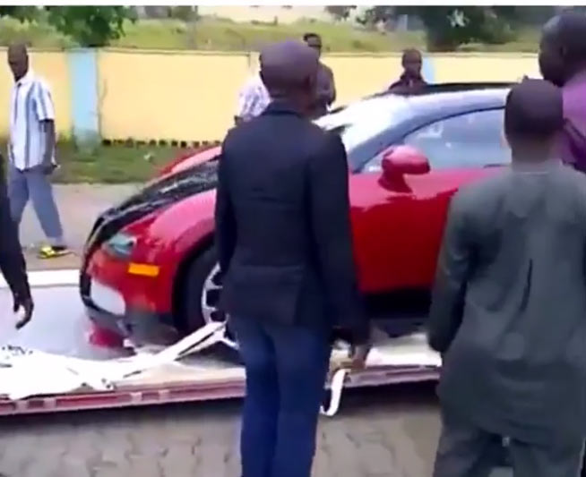 Instagram big boy @hushpuppi claps back at follower over N773m Bugatti Veyron spotted in Lagos
