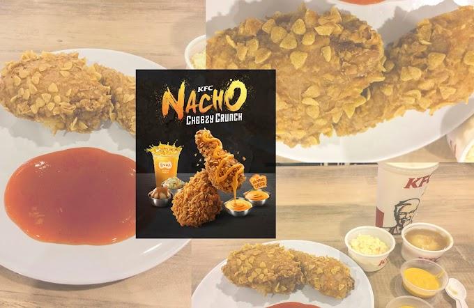 Akhirnya Dapat Rasa KFC Nacho Cheezy Crunch