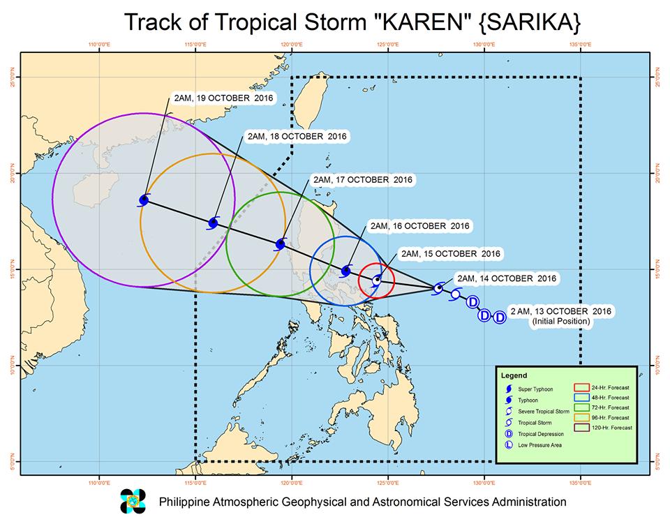 Bagyong Karen Philippines