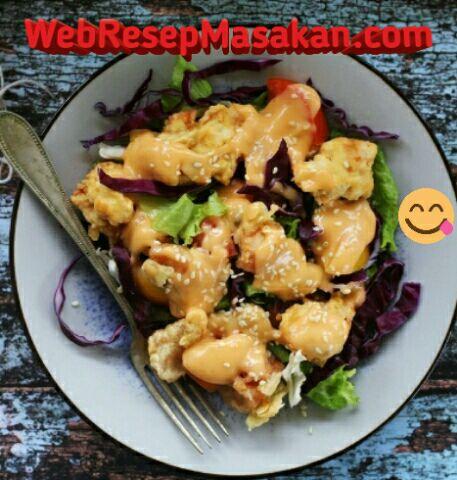 Pop Chop Chicken, Pop Chop Chicken salad, Resep pop chop chicken,